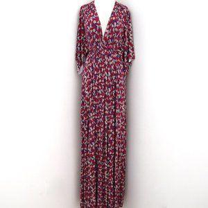 RACHEL PALLY printed jersey Caftan maxi dress